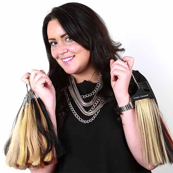 JESS HAIR EXTENSIONS COLOUR RUISLIP