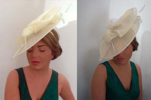 cream saucer hat from madcap books £60