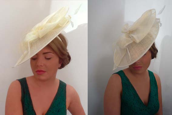 Cream Saucer Hat From Madcap Books 60