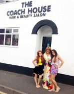 Aimee and Fran with Allyson Clewlow, The Coach House Wolverhampton