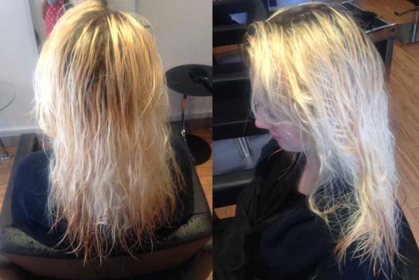 jess client before ruislip hairdressser