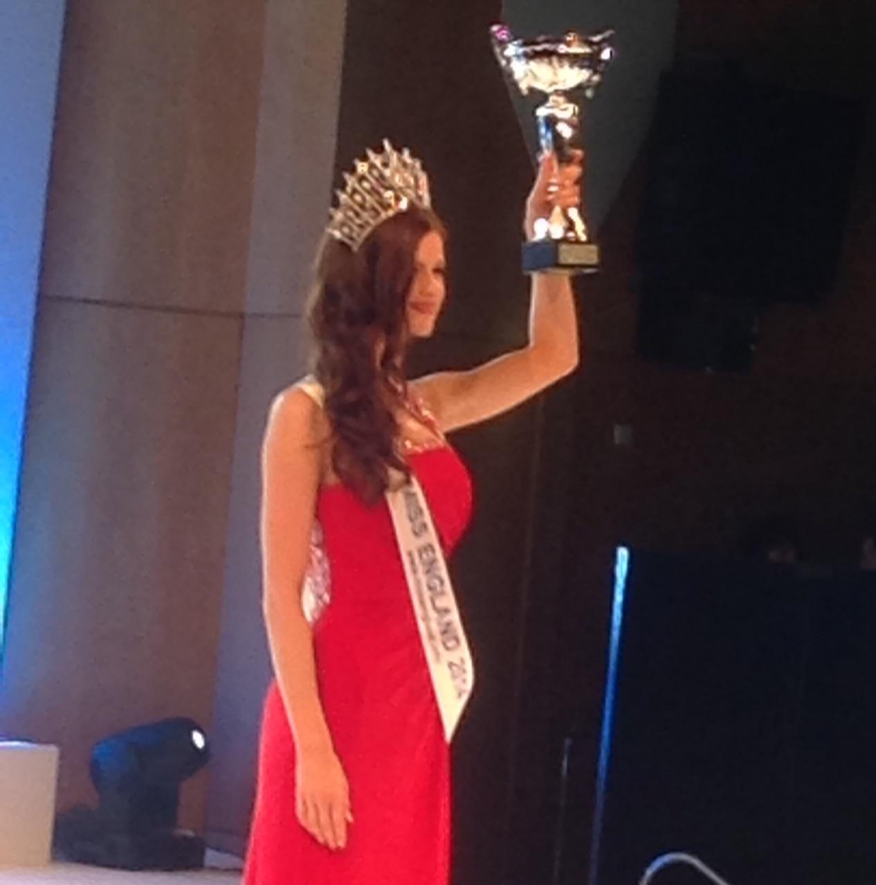 Carina Tyrrell Miss England