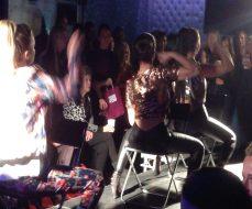 Hair show Aren's Bar Pinner