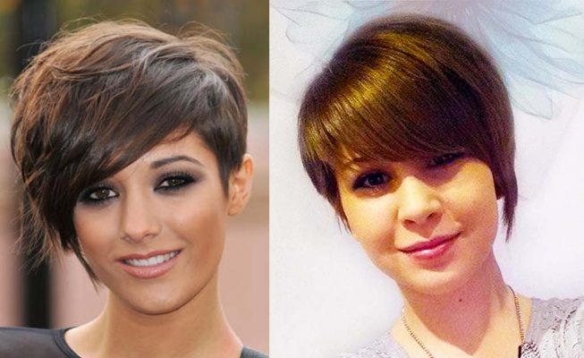 frankie sandford short hair